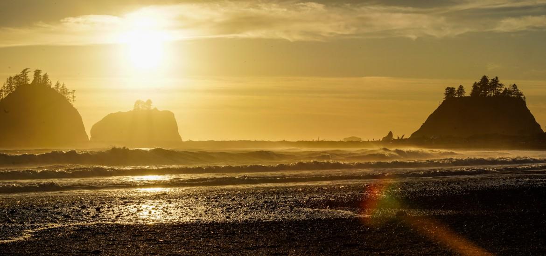 Sunset First Beach, La Push, Olympic Peninsula